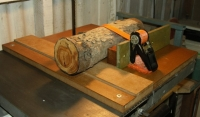 Log Cutting Sled
