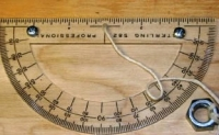 Tree Height Angle Gauge