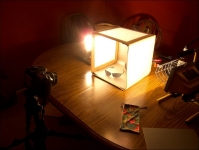 Collapsible Light Box