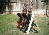 Portable Gun Rack