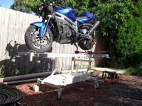 Motorcycle Table Lift