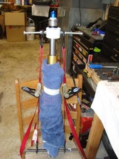 how to use fork spring compressor