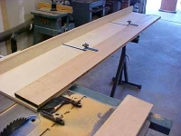 Straightline Edging Boards Jig